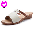 Wolf Who 2017 woman shoes summer slip on shoes for women Sandals Wedges Shoes chaussures femme