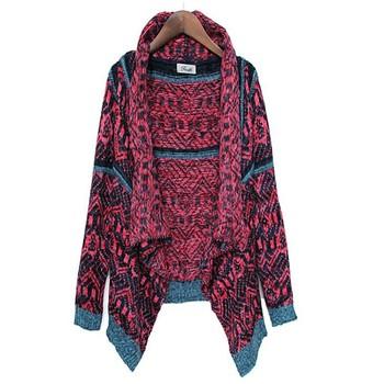 Женщин пончо и накидки пальто осень зима кардиган свитера новый 2014 женская мода негабаритных трикотажные кофты теплый свитер