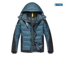 2015 Hot sale Men's Sports down coat winter RLX warm down jacket Men high quality White duck down coat Outdoor  jacket Man(China (Mainland))