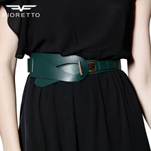 New Arrival Fashion Brand Belts for Women Genuine Leather Ladies Bests Famous Designer Luxury Waistband Wide Black Brown Blets(China (Mainland))