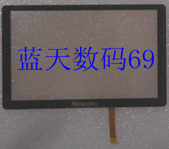 Genuine original M50 Newman Newman LOGO NEWSMY touch screen with a mirror with a black panel(China (Mainland))