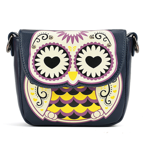Cheap Products Women's Splicing Color Shoulder Cross Body Bags Owl Pattern Holder Cover School Handbags Small Bag Wallets(China (Mainland))