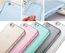 """0.3mm Super Flexible Clear Case For Iphone 6 Plus 6s Plus Crystal Simple Back Shell Pure Soft Style for Iphone6 6s Plus 5.5"""""""