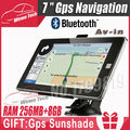 7 inch GPS Navigation with 256MB 8GB Bluetooth AV IN 2015 Maps For Russia Belarus Kazakhstan