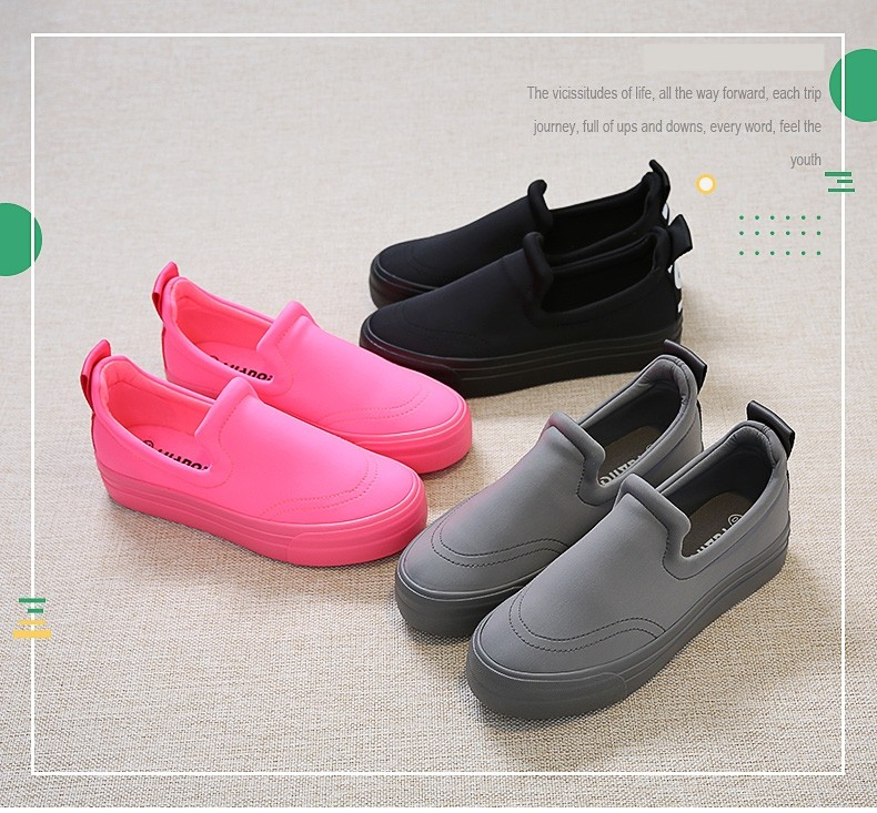Free shipping  2017 spring new fashion women shoes stretch fabric  loafers platform casual women fashion Casual shoes