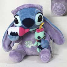 Buy Free 1pcs Kawaii Stitch Plush Toys 27cm Lilo Stitch,Stitch hold Scrump Soft Stuffed Animal Doll Kids Toys for $15.80 in AliExpress store