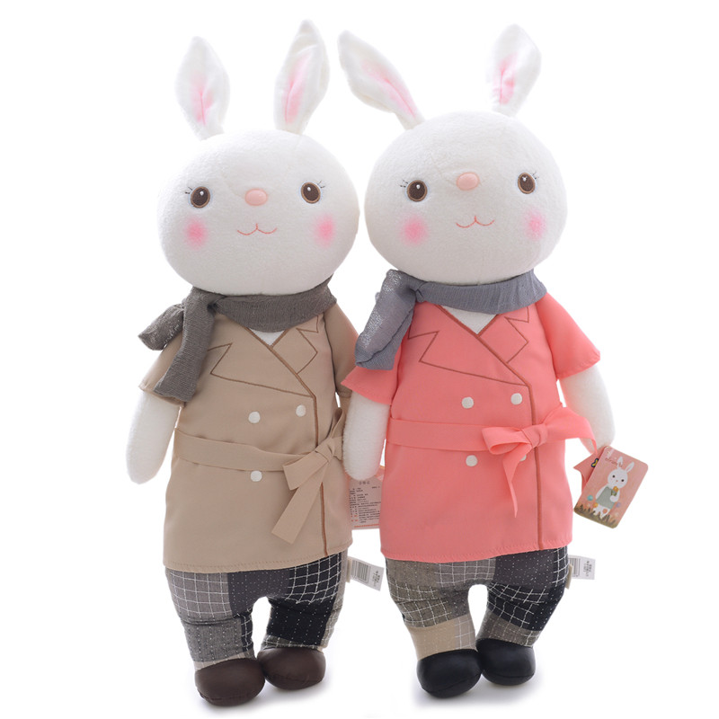 METOO Plush Tiramissu Bunny Toys Collectible Rabbits Stuffed Toys Gifts Bag Ornaments Toy Decor Doll 12'' New(China (Mainland))