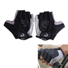 EA14 Cool Men Cycling Bicycle Bike Gloves Sports Half Finger Anti Slip Gel Gloves Plus Size S-XL 3 Colors Cycling Gloves(China (Mainland))