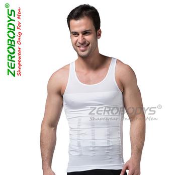 Ударно-поглотитель нижнее белье мужчины тело шейпера пресс Cдюймer спандекс одежда ...
