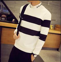 2016 man spring youth uniform  round neck long-sleeved fleece(China (Mainland))