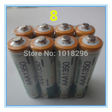 NEW 8pcs AAA 1350mAh BTY Ni-MH Rechargeable Batteries for camera toys Free shipping