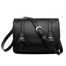 2016 fashion Women's Shoulder Bag Designer Handbags High Quality Messenger Bags Girls School Bags Cute 6 Color Pu Leather(China (Mainland))