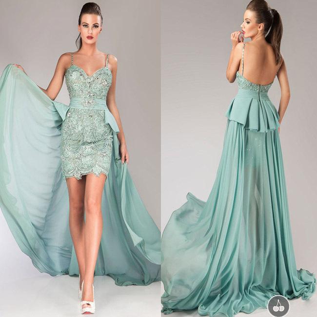 vestido festa longo noite casamento mint green lace beaded