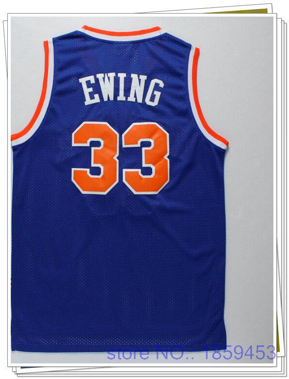 Online Get Cheap Replica Jerseys -Aliexpress.com | Alibaba Group,NBAJERSEYS_GNWBXEG414,Top quality USA Basketball sport mens stitched pro replica jerseys rev Patrick Ewing-#33New