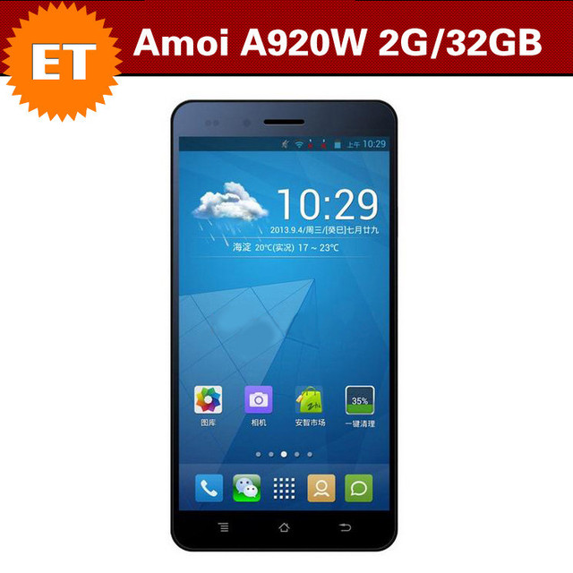 "Amoi N821 / Amoi A920w 2GB Ram 32GB Rom Android 4.2 Smartphone 5"" OGS FHD IPS 1920x1080p Bluetoothe GPS Dual Sim"