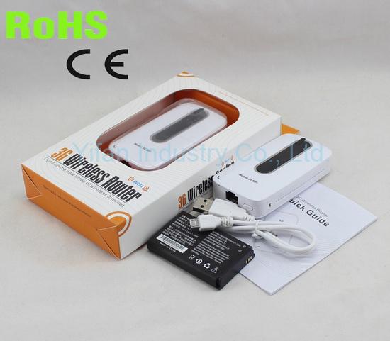 Free shipping! Unlocked 3000mAh Portable power bank 3G Mifi WIFI Router with SIM Slot PK Huawei E5331(China (Mainland))