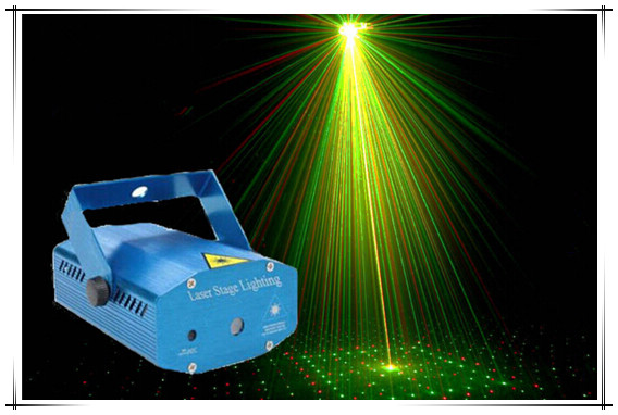Starry LED Portable Projector DJ Disco Light Stage Light Music Club Christmas party laser light projector(China (Mainland))
