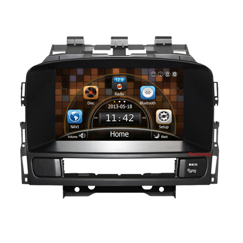 New Arrival !!! Car DVD Player for OPEL astra j with GPS Radio RDS BT IPOD,Optional DVR,Russian OSD menu, Free 8GB Map(China (Mainland))