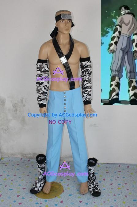Naruto Momochi Zabuza cosplay costume include naruto shoes
