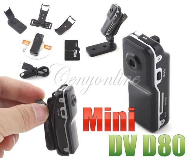 MD 80 Mini Portable DV Pocket Digital Video DVR Camera Recorder Camcorder For Windows For Mac OS10.4(China (Mainland))