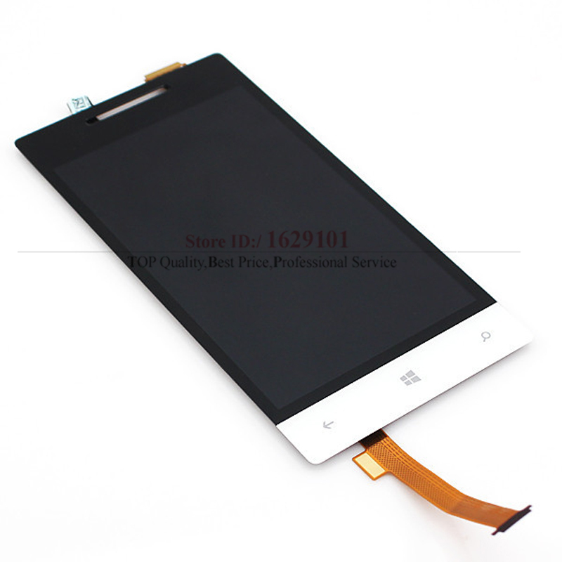 White or Blue Full LCD Display Touch Screen Digitizer Assembly For HTC Windows Phone 8S A620e Replacement Repair Parts