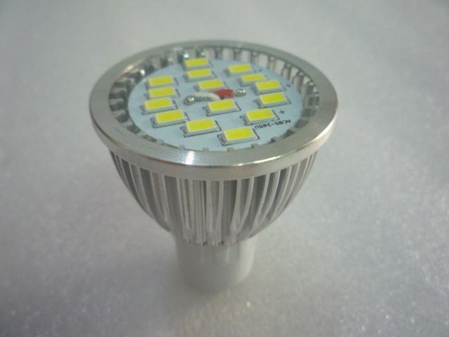 6W GU10 5630 SMD 15 LED Bulb Lamp 85-265V Modern 6 Watt Spot Light Bulbs Warm white Cool Spotlights - Soar Bright store