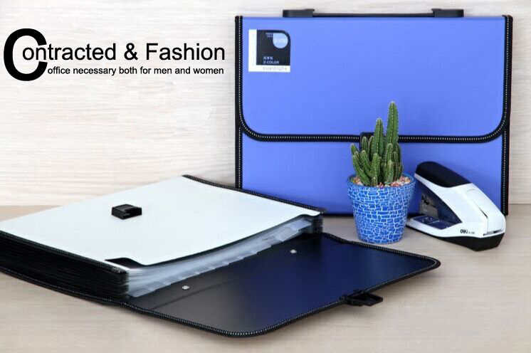durable waterproof book a4 paper file folder bag accordion style document rectangle expanding wallet office home a4 paper file folder