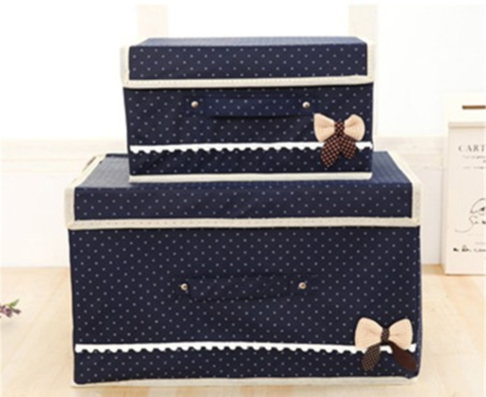 Free Shipping Home Modern Non-woven Fabrics Cardboard Clothing Organizer Colorful Receive A Case Of Underwear(China (Mainland))