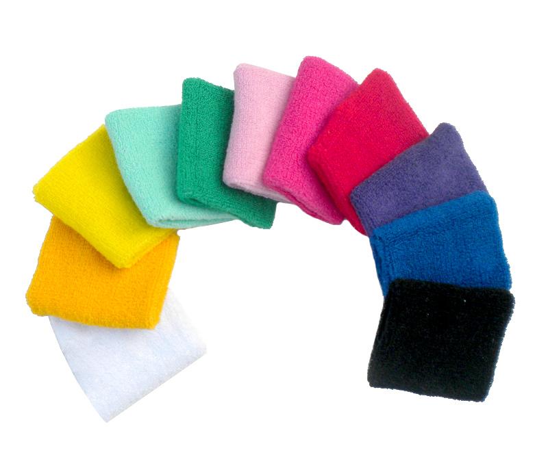 Wrist Support Sports Cotton Towel Wrist Basketball Badminton Tennis Wrist Brace Protecting Volleyball Sweat Wristband Sport HW23(China (Mainland))