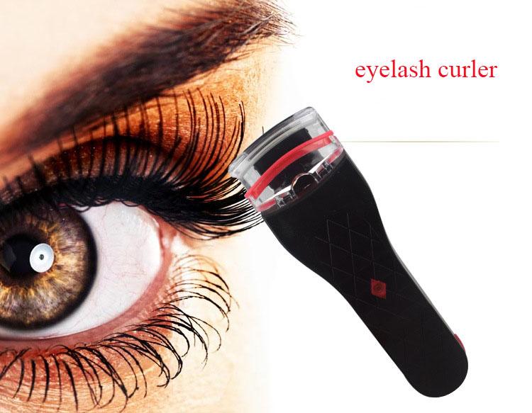 Eyelashes Clip Eyelash Curler Beauty Electric Heated Power Makeup Tools Not Included Battery Women Eye Lash Perm Long Lasting(China (Mainland))