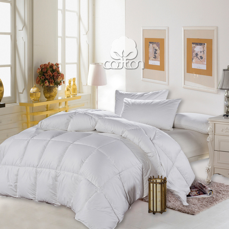 winter pure 100 cotton white duck down comforter set warm and comfy duvet twin full queen king. Black Bedroom Furniture Sets. Home Design Ideas