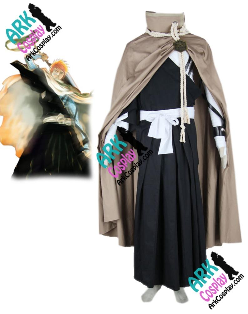 Bleach Kurosaki Ichigo Cosplay Kimono Cosplay Brown Mens Bleach Cosplay Costume