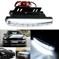 2016 New Hot 1PC 6000K Car Led Daytime Driving Running Light 8LED DRL Car Fog Lamp