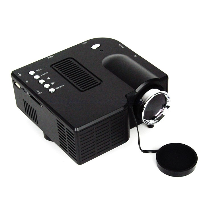 Cheapest price portable mini multimedia led projector for for Mini projector price