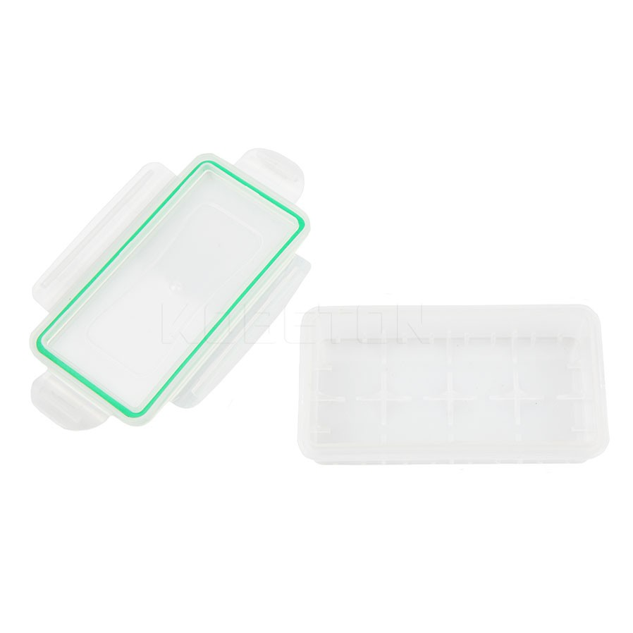 image for 1PC Waterproof Clear Battery Holder For 18650 Battery Case Transparent
