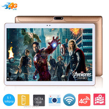 """2017 Newest 10 inch Tablet PC Octa Core 4GB RAM 32GB ROM Dual SIM Cards Android 5.1 GPS 3G 4G LTE Tablet PC 10 10.1"""" +Gifts(China (Mainland))"""