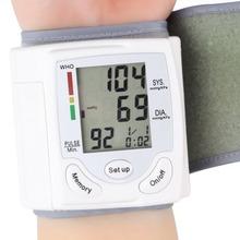 Ome automatische digitale handgelenk-manschette arm blutdruckmessgerät Gebührenimpuls blutdruckmessgerät Herzschlag Meter lcd-display 2015 neue(China (Mainland))