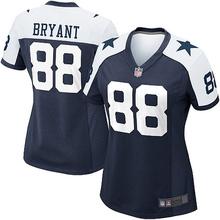 Women's Dallas Dez Bryant America Football Jersey - White(China (Mainland))