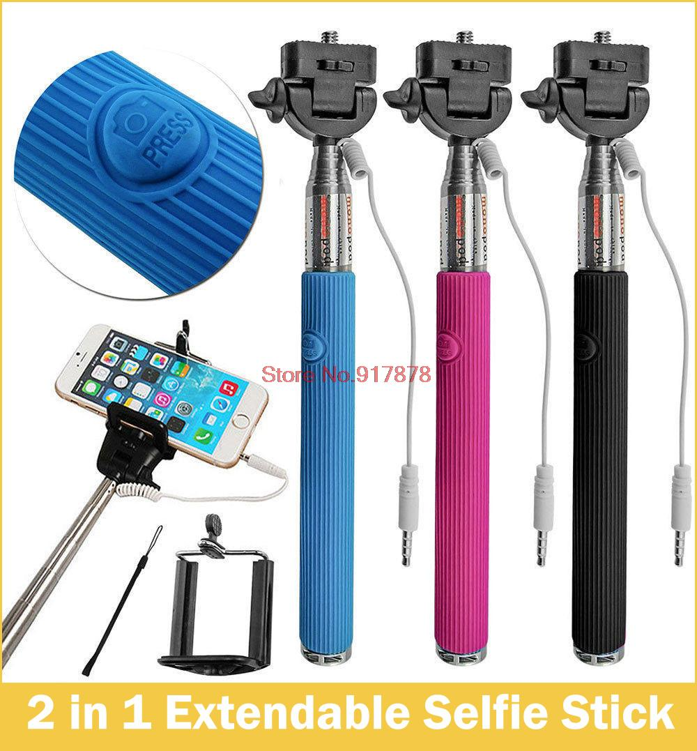 buy 50pcs selfie stick handheld monopod for iphone samsung smartphone any. Black Bedroom Furniture Sets. Home Design Ideas