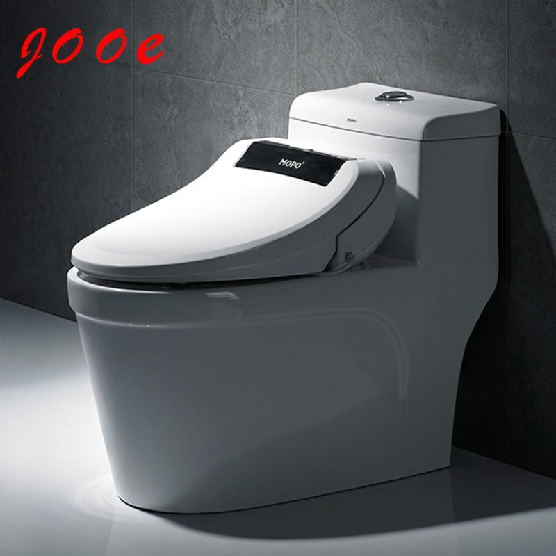Automatic flip toilet lid siphon toilet glazed one piece toilet seat cover automatic toilet lid(China (Mainland))