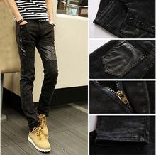2015 Autumn Fashion Classic Jeans Casual  Men Jeans Famous Straight Korean Slim Brand  Pants Plus 28-34 Size 1.20-361()