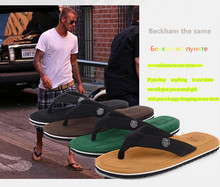 2016 star the same flip flops fashion slippers high quality  man's fashion slippers hot sale high cost performance(China (Mainland))