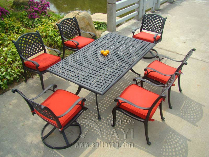 online kaufen gro handel aluminium terrasse m bel aus china aluminium terrasse m bel gro h ndler. Black Bedroom Furniture Sets. Home Design Ideas