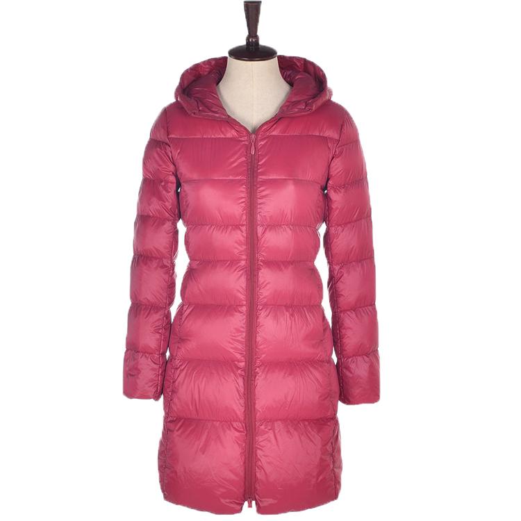 Womens Winter Jackets And Coats Ultra Light Duck Down Jacket Long Parkas para Одежда и ак�е��уары<br><br><br>Aliexpress