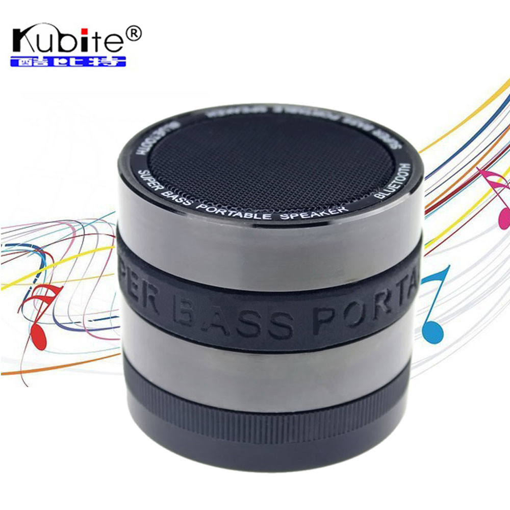 Kubite Mini Portable Bluetooth Speaker Waterproof Wireless Stereo Speakers Handsfree With Mic Support TF Card For iphone Samsung(China (Mainland))