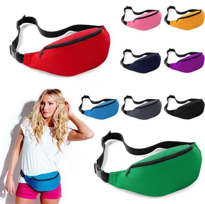 2015 Unisex Classic Bum Bag Fanny Money Pouch Running Waist Bag Pack Belt Zip 8Colors Sport Fashion(China (Mainland))