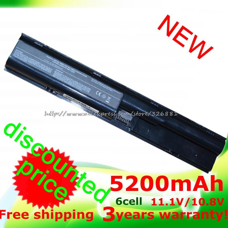 NEW 5200MaH   Laptop battery for Hp  ProBook 4330s	 4331s	  4430s   4431s	  4435s  4436s   4530s	  4535s