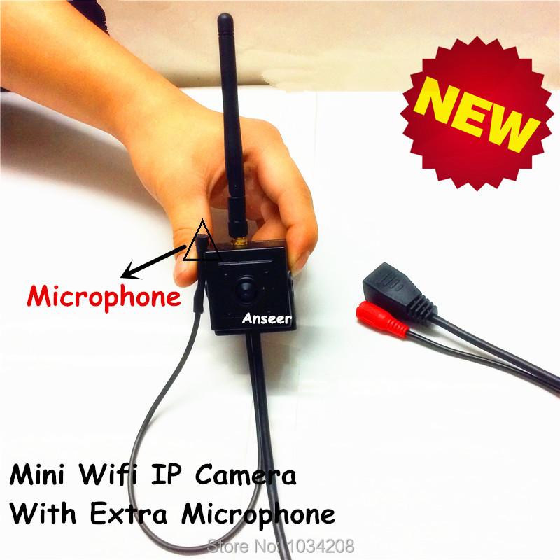 3.7mm Pinhole Lens H.264 Onvif 1.3 MegaPixels 960P Hd Mini Wifi IP Camera With Microphone Security Camera CCTV Camera HI3518E<br><br>Aliexpress