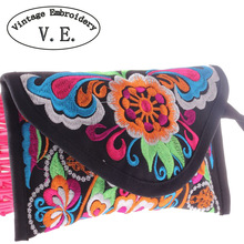 2015 new women wallet embroidered wallet Day Clutch chinese style handbag card holder bags Purse clutch mobile phone coin bag(China (Mainland))