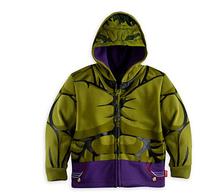 Super Hero Boy's Thor Jacket&Coat,Baby Boy's The avengers Cosplay Coat Kids Iron man Casual  jackets.baby hoodies 3-10T(China (Mainland))